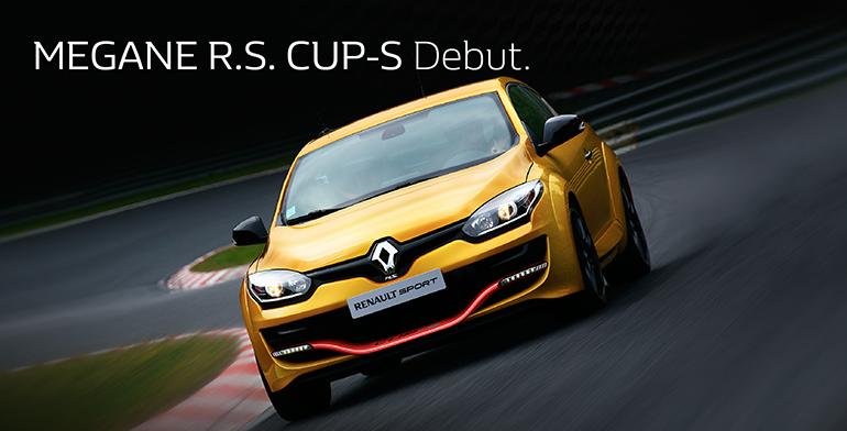 MEGANE R.S. CUP-S