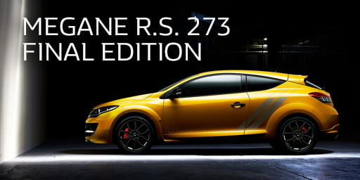 MEGANE R.S. 273 FINAL EDITION