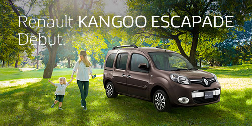 Renault KANGOO ESCAPADE Debut.