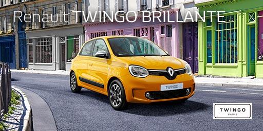 Renault TWINGO BRILLANTE Debut.
