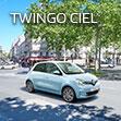Renault TWINGO CIEL Debut.