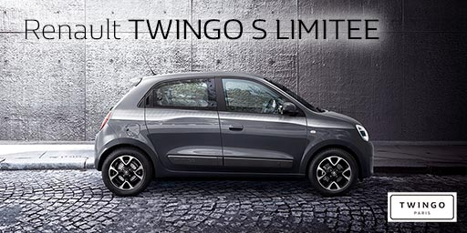 Renault TWINGO S LIMITEE Debut.
