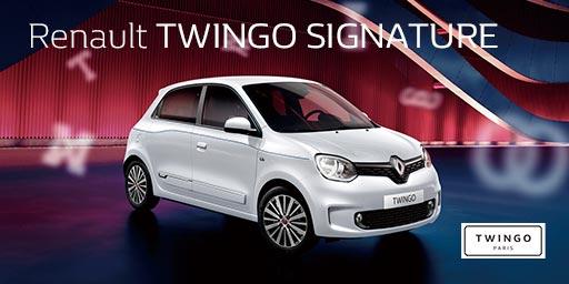 Renault TWINGO SIGNATURE Debut.
